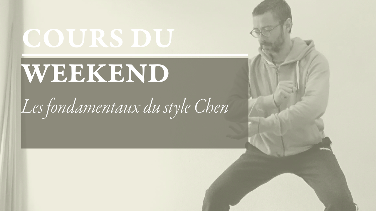 Antoine Richard cours weekend fondamentaux bases chen taiji taichi avril 2021